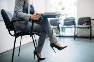 Plan de coupe pendant une interview